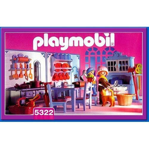 playmobil 5322 cuisine achat et vente priceminister rakuten. Black Bedroom Furniture Sets. Home Design Ideas
