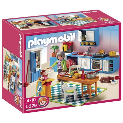 playmobil 5329 cuisine achat vente de jouet rakuten. Black Bedroom Furniture Sets. Home Design Ideas