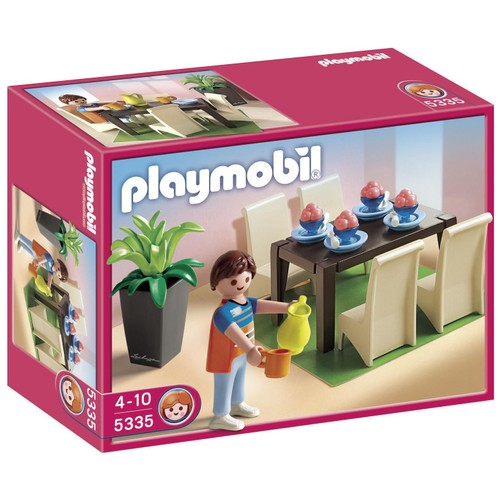 Playmobil 5335 salle manger achat et vente for Salle de sejour playmobil