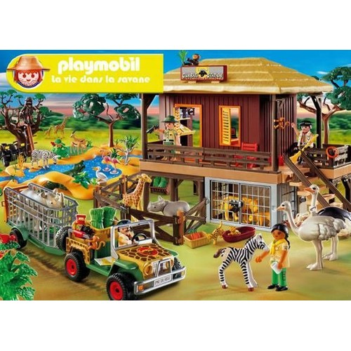 lot playmobil animaux de la savane