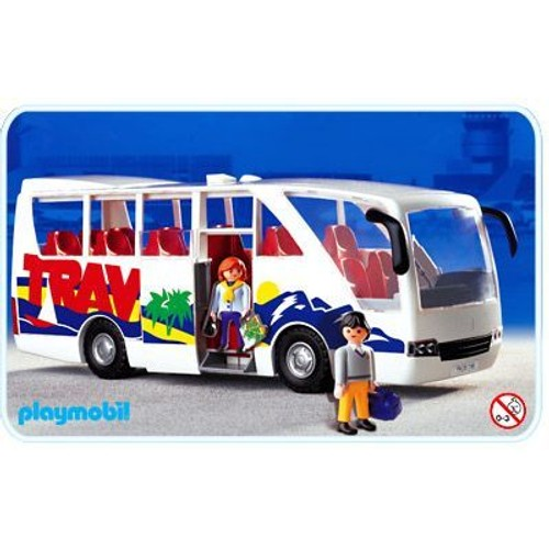 playmobil autocar bus travel 3169 neuf et d 39 occasion. Black Bedroom Furniture Sets. Home Design Ideas