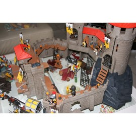 Playmobil Chateau Fort Playmobil Chevalier Ch Teau Fort M Di Val