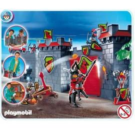 Citadelle des chevaliers transportable 4440 achat et vente - Chateau chevalier playmobil ...