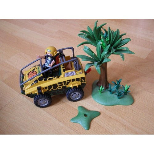 playmobil jeep safari et accessoires 16 cm achat et vente. Black Bedroom Furniture Sets. Home Design Ideas