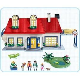 Playmobil maison moderne achat vente de jouet for Playmobil maison moderne prix
