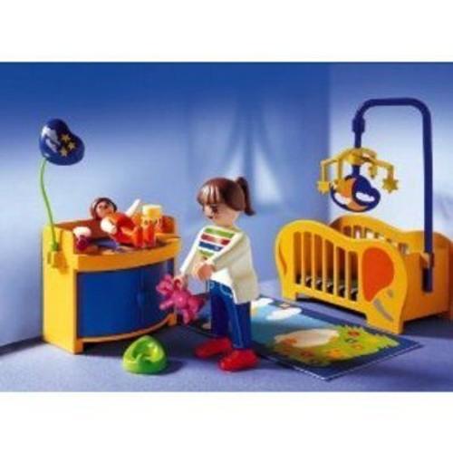 Playmobil 3207 maman et chambre de b b achat et vente for Playmobil chambre bebe