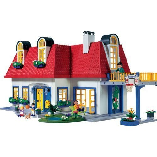 playmobil vie en ville 3965 maison contemporaine neuf et. Black Bedroom Furniture Sets. Home Design Ideas