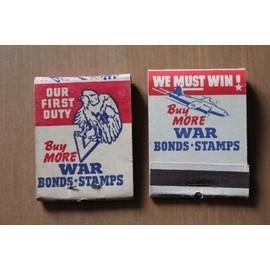 Plein D'allumettes Americaine De Marque We Must Win Ww2