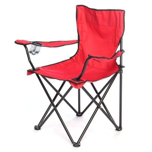 Cheap Pliable Chaise Fauteuil Jardin Sige Exterieur Camping Pche Meuble Rouge With
