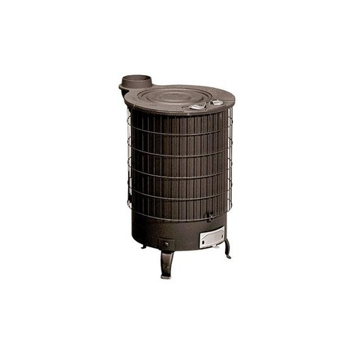 poele a bois turbo mixte acier fonte 16 kw pas cher priceminister rakuten. Black Bedroom Furniture Sets. Home Design Ideas