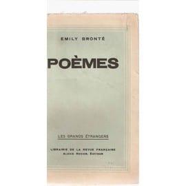 Po�mes de Emily Bront�