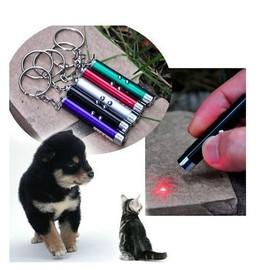 Pointeur Laser 3 En 1 Laser Rouge 1mw / Lampe De Poche