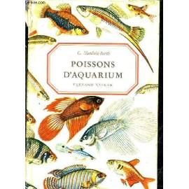 Poissons D'aquarium. de G.MANDAHL BARTH