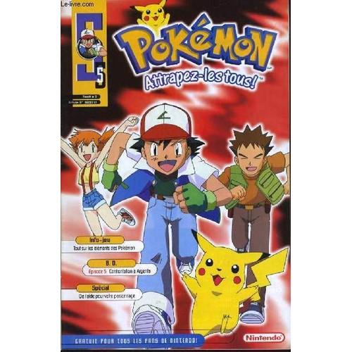 Pokemon attrapez les tous n 5 info jeux tous sur les - Jeux info pokemon ...