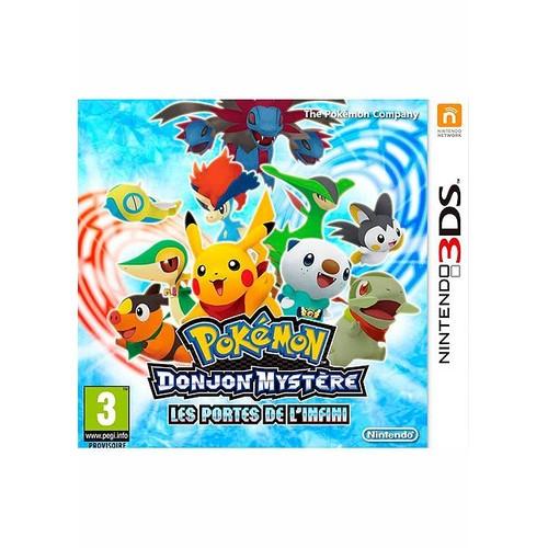 Pokemon donjon myst re les portes de l 39 infini sur - Pokemon donjon mystere porte de l infini ...
