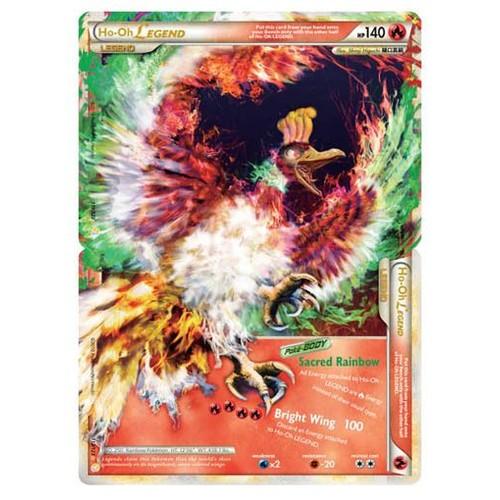 Pokemon l gendaire ho oh legend 140 hp cartes ultra - Pokemon legendaire ...