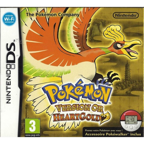 Pokemon Version Or - Heartgold (Pokewalker Inclus) - Achat ...