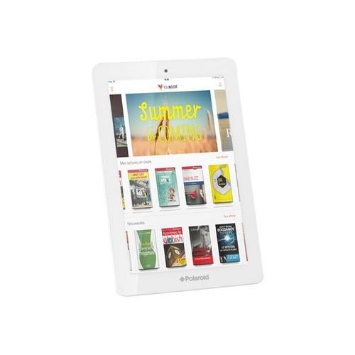 tablette polaroid infinite 16 go 10 1 pouces blanc pas cher. Black Bedroom Furniture Sets. Home Design Ideas