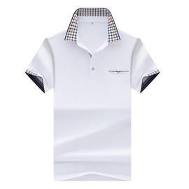 Homme Courte Revers Slim Zs0505b Couleur Shirt Unie Polo Coton T Manche Hommes D29eEIbWHY