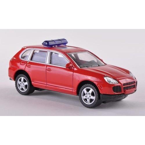 porsche cayenne turbo pompiers voiture miniature miniature d j mont e norev. Black Bedroom Furniture Sets. Home Design Ideas