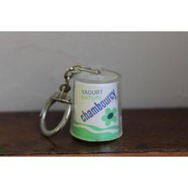 Porte cle pot de yaourt chambourcy neuf et d 39 occasion for Porte yaourt