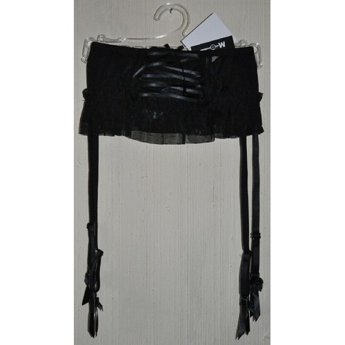 Porte jarretelle serre taille noir mosquitos t 42 neuf - Serre taille porte jarretelle ...
