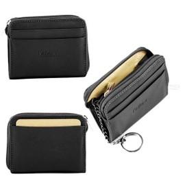 Porte monnaie carte cb cl s zipp e femme homme en cuir de vachette neuf - Porte monnaie porte carte femme ...
