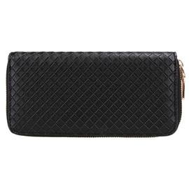 Portefeuille longue portefeuille d 39 embrayage carte - Pochette rangement pour sac a main ...