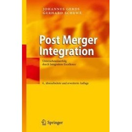 Post Merger Integration de Johannes Gerds
