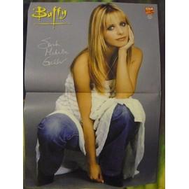 Poster A3 Sarah Michelle Gellar (Buffy)