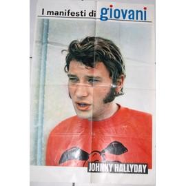 Poster Italien Johnny Hallyday