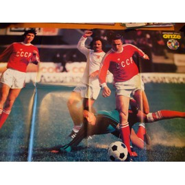 Poster Onze Onitchenco + Equipes Fran�aises Europe 77/78