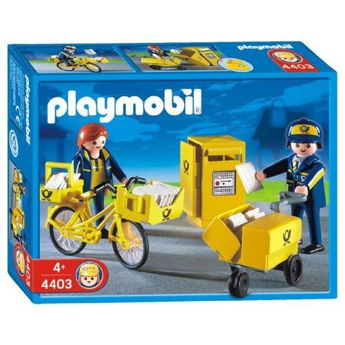 playmobil 4403 postiers bo te aux lettres achat et vente. Black Bedroom Furniture Sets. Home Design Ideas