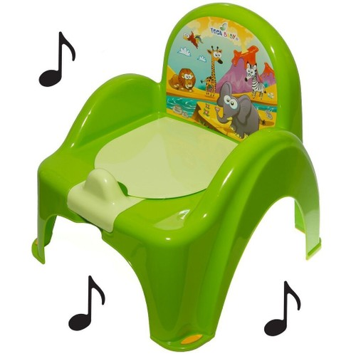De Toilette Musical Pour Bébé Enfant Fauteuil Chaise Couleur Vert
