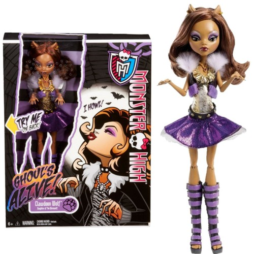 poup e monster high clawdeen wolf ghoul 39 alive achat et. Black Bedroom Furniture Sets. Home Design Ideas
