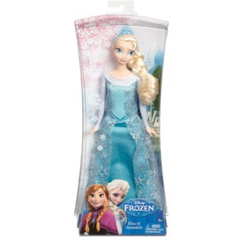 Poup e articul elsa reine des neiges frozen mattel disney - Barbie reine des neiges ...