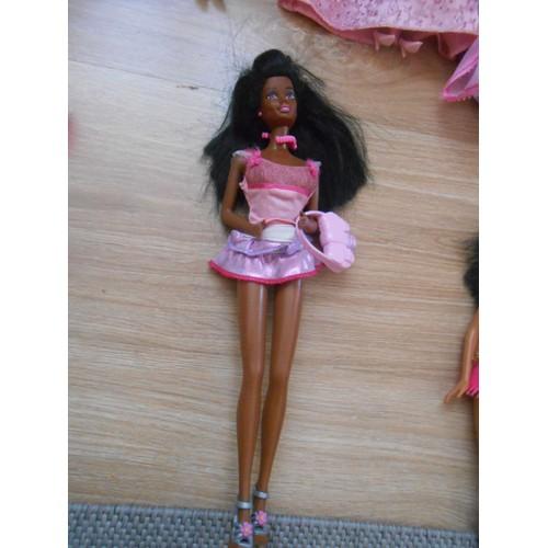 poupee barbie noire mattel achat vente de jouet rakuten. Black Bedroom Furniture Sets. Home Design Ideas