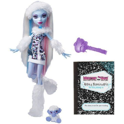 poup e monster high abbey bominable fille du yeti achat. Black Bedroom Furniture Sets. Home Design Ideas