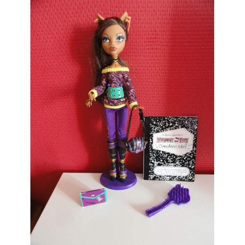 poup e monster high clawdeen wolf basic 2 achat et vente. Black Bedroom Furniture Sets. Home Design Ideas