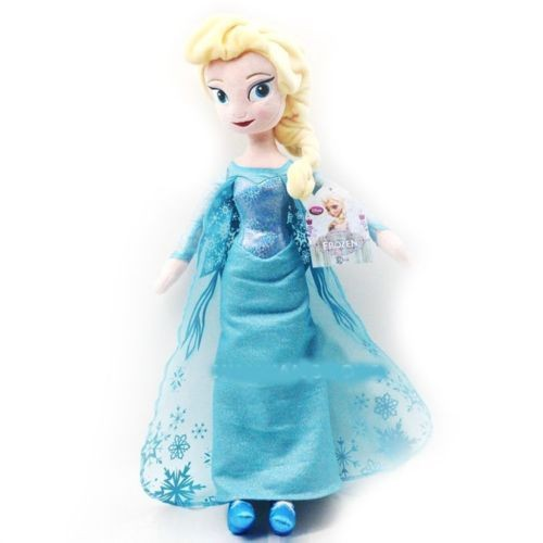 poup e peluche elsa la reine des neiges frozen disney. Black Bedroom Furniture Sets. Home Design Ideas