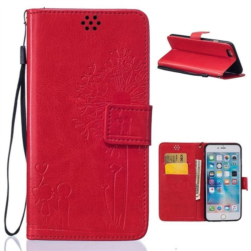 coque iphone 6 rabat rouge