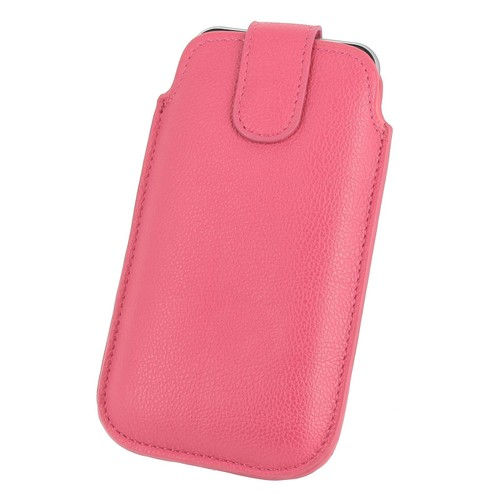 Pour apple iphone 7 housse etui aspect cuir graine rose for Housse iphone 7 cuir