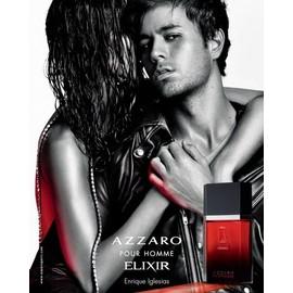 pour homme elixir de azzaro publicit de parfum incarn par enrique iglesias azz03. Black Bedroom Furniture Sets. Home Design Ideas
