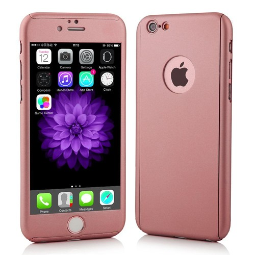 coque iphone 7 rose 360