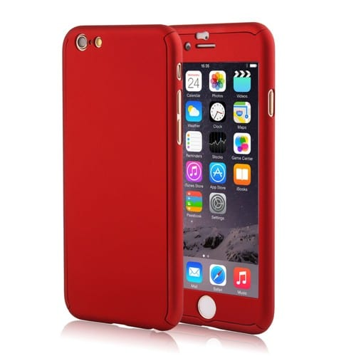 coque iphone 6 rouge apple