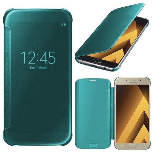 Coque Silicone gel bleu Galaxy A5 2017 c6GVf9tB