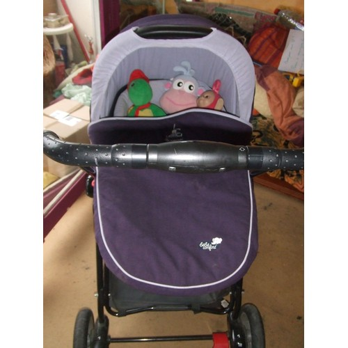 poussette hamac landau b b confort urban life violet. Black Bedroom Furniture Sets. Home Design Ideas