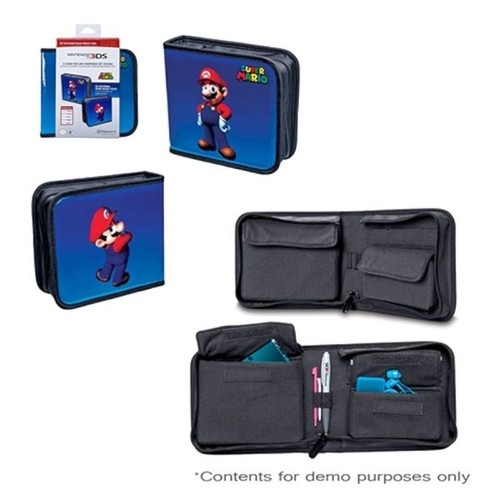 Power a housse tui de protection rangement super mario for Housse nintendo 2ds xl