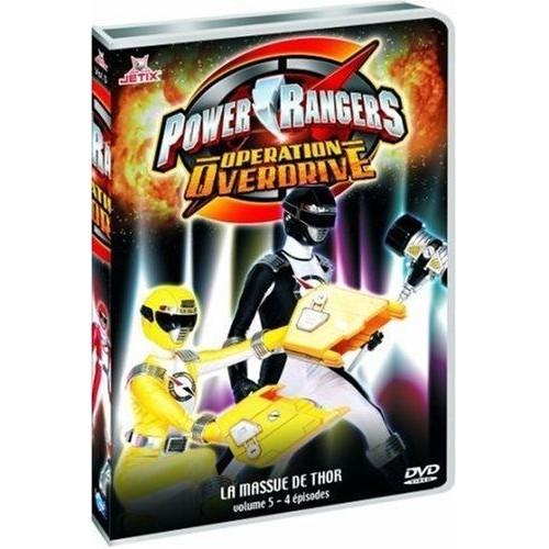 Power rangers op ration overdrive vol 5 dvd zone 2 - Code avantage aroma zone frais de port ...