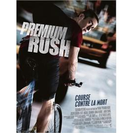 Premium Rush - Véritable Affiche De Cinéma Pliée - Format 40x60 Cm